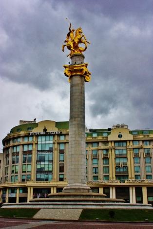 Vapauden monumentti Vapauden aukiolla.