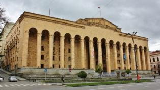 Georgian toinen parlamenttitalo on Tbilisissä.