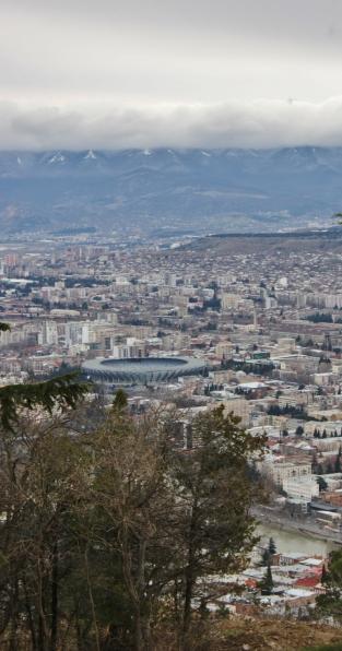 Maan suurin stadion.