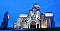Bagratin katedraali rakennettiin ensimmäisen kerran 1000-luvun taitteessa.
