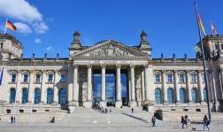 Reichstag eli Valtiopäivätalo.