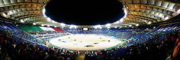 On se kaunis stadion.