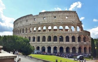 Kierros käyntiin Colosseumilta