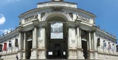 Palazzo delle Esposizioni ja onnettomampi panorama, mutta meikän mittapuulla julkaisukelpoinen.