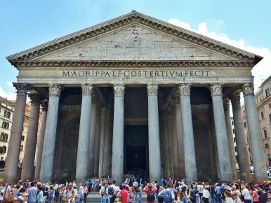 Pantheon se siinä.